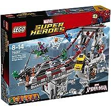 LEGO Marvel Super Heroes Spider-Man: Combate definitivo entre los guerreros arácnidos - juegos de construcción (Multicolor, 8 año(s), 1092 pieza(s), Cómics, Niño, 14 año(s))