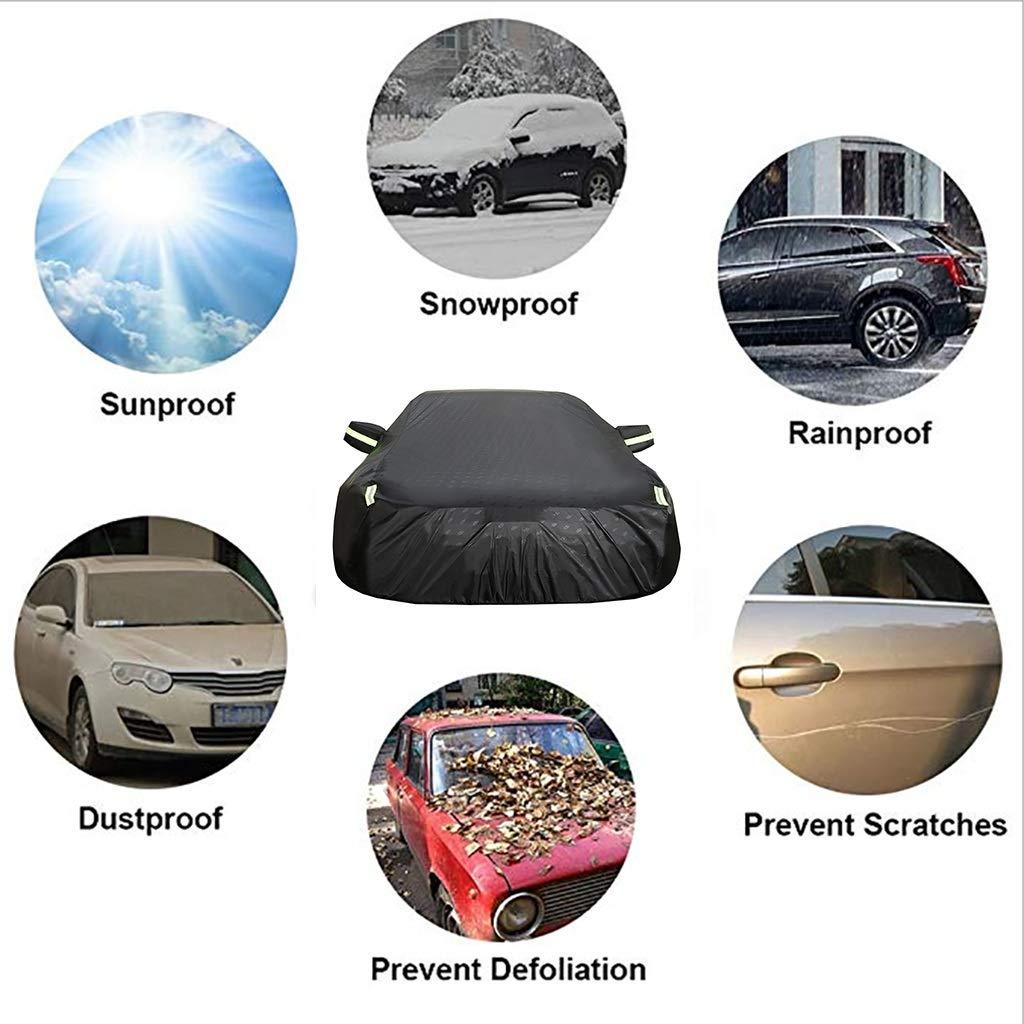UV en exteriores Bajo techo viento polvo Fundas para coche Cubierta del coche Volvo C70 Protecci/ón impermeable contra la intemperie contra la lluvia sol