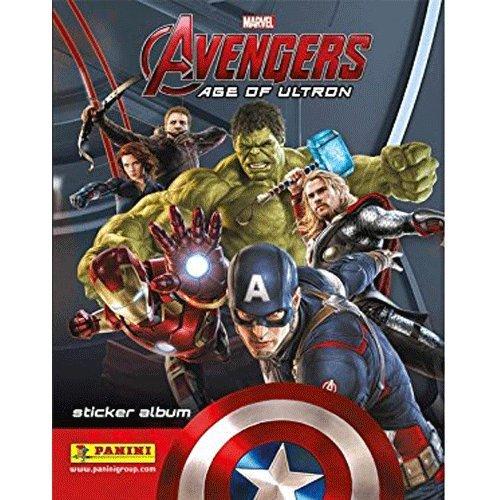 Panini Marvel Avengers: Age Of Ultron - Pack collection de stickers de démarrage (autocollant album + 31 autocollants)