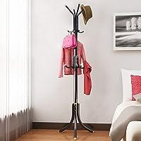 Avani MetroBuzz Coat Rack Hanger Creative Fashion Bedroom for Hanging Clothes Shelves, Iron Racks Standing Coat Rack (Black)