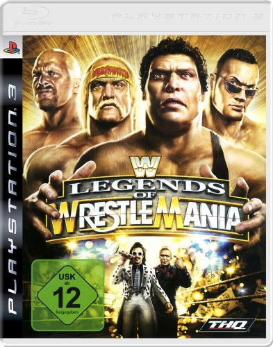 WWE - Legends of Wrestlemania (Ps3-wwe-wrestling-spiele)