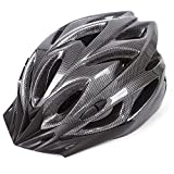 Babimax Casque de Velo Visière Protection de Tête Casque VTT pour Adulte Equipement de Sport pour Cycliste Unisexe 56 à 63 cm L