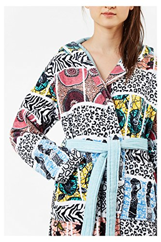 Desigual Bathrobe Wild Animal, algodón,...