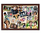 #8: AR Personalized Photo Frames Wall Collage (Brown, 16 x 24) : A-109BP