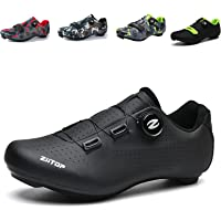 Mens Cycling Shoes, Road Bike Cycling Shoes for Men, Breathable Non-Slip Road and Mountain Bike Shoes, Bike Shoes with…