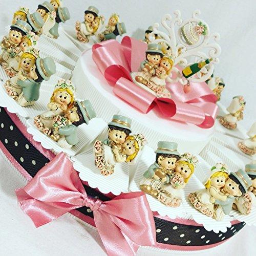 Sindy bomboniere bomboniere matrimonio sposi albero della vita, sposi originali completi confetti crispo apr