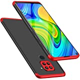 TheGiftKart Full Body Redmi Note 9 Bumper Back Case Cover   360 Degree Protection   Protective Hard Case   Hybrid 3-in-1…