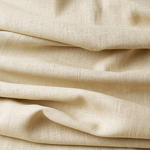 Tela lino natural - 100% lino puro - Gran textura