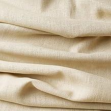 Tela de lino natural - 100% lino puro - Gran textura de lino - 20