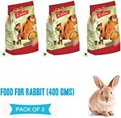 PetSutra Vitapol Food for Rabbit, 1200g (400gx3)