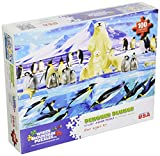 White Mountain Puzzles Penguin Plunge - 100 Piece Jigsaw Puzzle