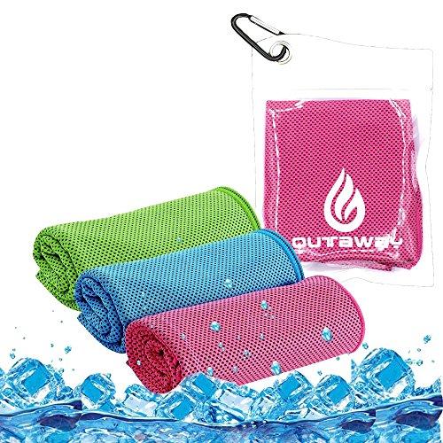 Kühlung Handtuch Instant Cool Ice Towel Multi Functional Super Absorbant Sweat Handtuch für Reisen Running Golf Gym Übung Workout Outdoor Wandern Fitness Yoga Leichte Stoff (40