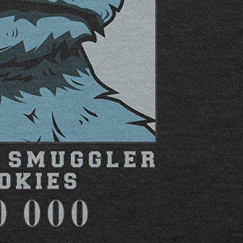 Texlab–Wanted Thief and Smuggler of Cookies–sacchetto di stoffa Nero