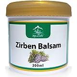 Zirvbalsam 200 ml med zirkonolja från Österrike för nacke, muskler, leder och lugnande för förkylningsbesvär