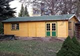 Gartenhaus Nordsee I Blockhaus Partyhaus Ferienhaus 515cm x 730cm - 45mm