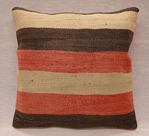 ETFA Kelim Kissen Kissenbezug Kissenhülle cushion cover pillow 40x40 cm 3529