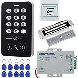HFeng Kit Sistema Control Acceso Metal 125KHz RFID Teclado ...