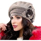 Ruphedy Barett Hy022 - Berretto invernale da donna in lana