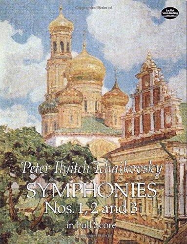 Symphonies Nos 1, 2 & 3 -Full Score- (Full score edition of the 'Winter Daydreams', 'Little Russian' and 'Polish' symphonies.): Partitur, Dirigierpartitur für Orchester (Dover Music Scores)