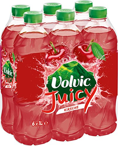 Volvic Juicy Kirsche, 6er Pack (6 x 1 l)