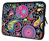 Luxburg® Laptop Sleeve EK10359 Schutzhülle, 43 cm (17 Zoll), marienkäfer, Stück: 1