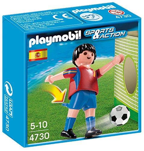 Playmobil Fútbol - Fútbol: Jugador España 4730