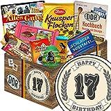 Geschenk zum 17. | Schokolade Set | Geschenk Korb | Schokoladenset | Geschenkidee 17 Jahrestag
