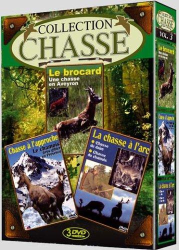 Preisvergleich Produktbild Coffret chasse,  vol. 3 : Le brocard / Le chamois / Daim - Coffret 3 DVD [FR Import]
