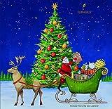 Adventskalender mit Tee - Motiv Weihnachtsmann 2017