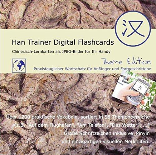 Han Trainer Digital Flashcards, 1 CD-ROM (Theme Edition) Virtuelle Lernkarten Chinesisch-Deutsch....