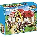 Playmobil - Granja de ponis con establo, set de juego (5221)