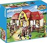 Playmobil 5221 - Grande Maneggio con Recinto, Multicolore