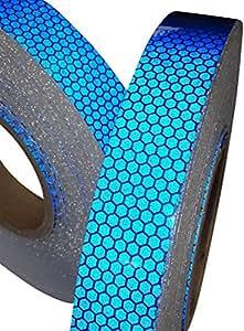 Ruban Adhésif Réfléchissant Bleu Haute Intensité 25mm x 2.5m