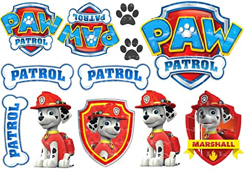 edible-icing-paw-patrol-marshall-dogs-signs-cake-toppers