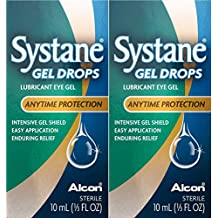 Systane Gel Lubricante Gotas protección de ojos Gel, en cualquier momento gvvmyk, 2 unidades
