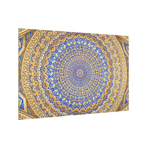 Bilderwelten Spritzschutz Glas - Dome of The Mosque - Quer 2:3, HxB: 59cm x 90cm Dome-gläser