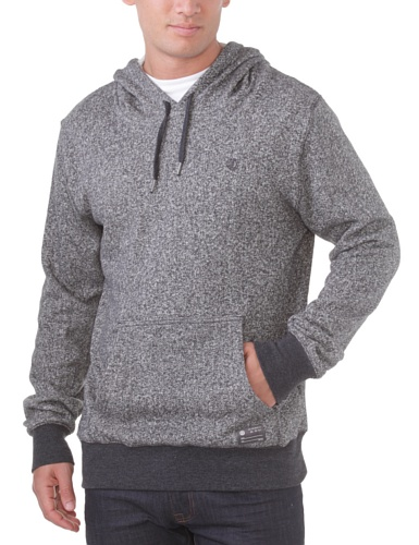 element-brennan-sweat-shirt-a-capuche-sport-a-logo-homme-noir-black-heather-l