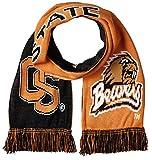 Donegal Bay NCAA Oregon State Biber 2-in-1-Schal, eine Größe, schwarz