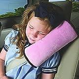 Sicherheitsgurt Kissen Für Kinder DEFGO Auto Sicherheitsgurt Harness Schulterpolster Abdeckung Kopfstütze Nackenstütze für Kinder Kid Erwachsene