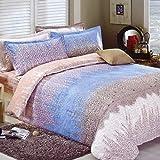 Crystallly Bettbezug Baumwollsteppdecke Quilt Jacke Einzelbett Bettbezug S 220 * 240Cm(87X94Inch) Schlafzimmer Bettwäsche Einfacher Stil Home Dekoration Geschenk Simplicity Gebrauch