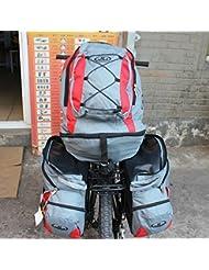 Bazaar Détachable trois dans une capacité de 68l lager sac à dos de vélo