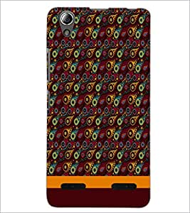 PrintDhaba Pattern D-1855 Back Case Cover for LENOVO A6000 PLUS (Multi-Coloured)