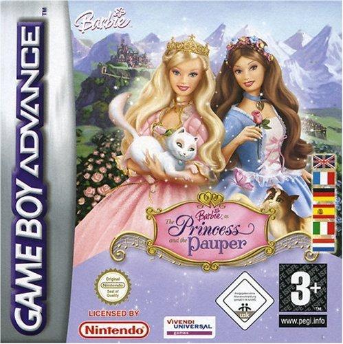 GameBoy Advance - Barbie: Die Prinzessin und das Dorfmädchen / The Princess and the...