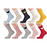 Lieblingsstrumpf24 Pack de 10 calcetines de algodón para niños y niñas.