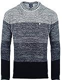 Carisma Herren - Strickpullover 7398 Streetwear Menswear Autumn/Winter Knit Knitwear Sweater CRSM CARISMA Fashion, Größe L, Farbe Navy
