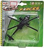 Maisto Uh-60A Black Hawk Aeroplane Die Cast Toy Helicopter (Black)