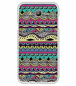 Fiobs Designer Back Case Cover for Samsung Galaxy J5 (2015) :: Samsung Galaxy J5 Duos (2015 Model) :: Samsung Galaxy J5 J500F :: Samsung Galaxy J5 J500Fn J500G J500Y J500M (Snakes Colorful Design Pattern Triangles)