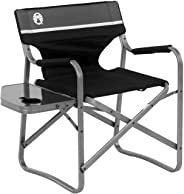 Coleman Aluminium Deck Chair with Side Table