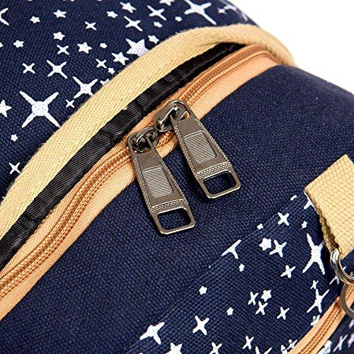 """FEEHAN Rucksack Schulrucksack Multifunktionssegeltuchrucksack Reisetasche Notebook Lässiger Daypacks Schultaschen Pockets ,Vintage Canvas Herren Seesack Rucksack Reisetasche Laptoptasche 15,6"""" khaki"""