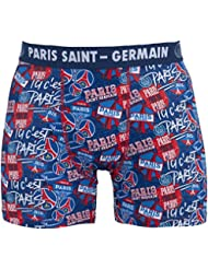Boxer PSG - Collection officielle PARIS SAINT GERMAIN - Taille adulte homme